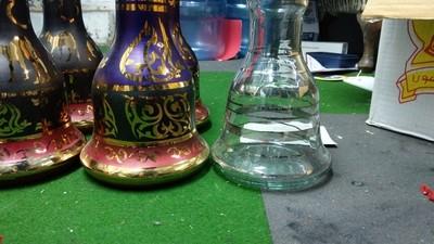 Khalil Maamoon Glass Base - L / XL
