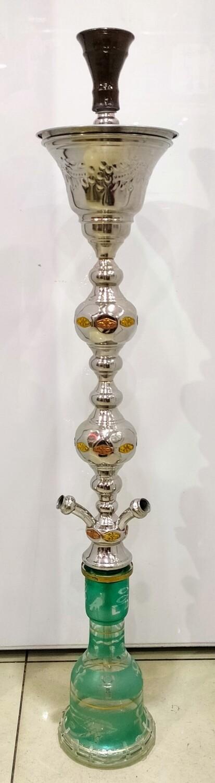 Pharoah Egyptian Hookah - Double Dor with Ice Bucket (3 Hose)