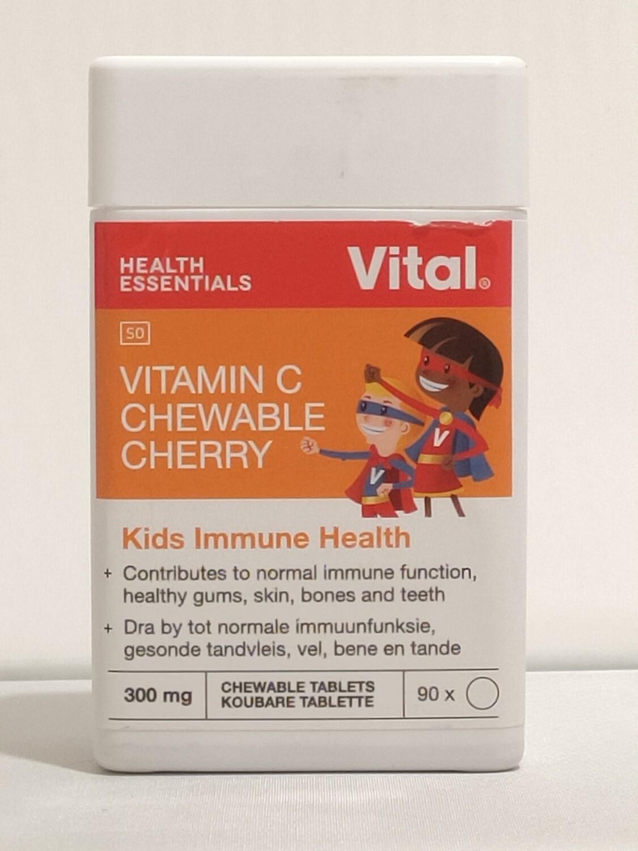 Vital Vitamin C Chewable Cherry