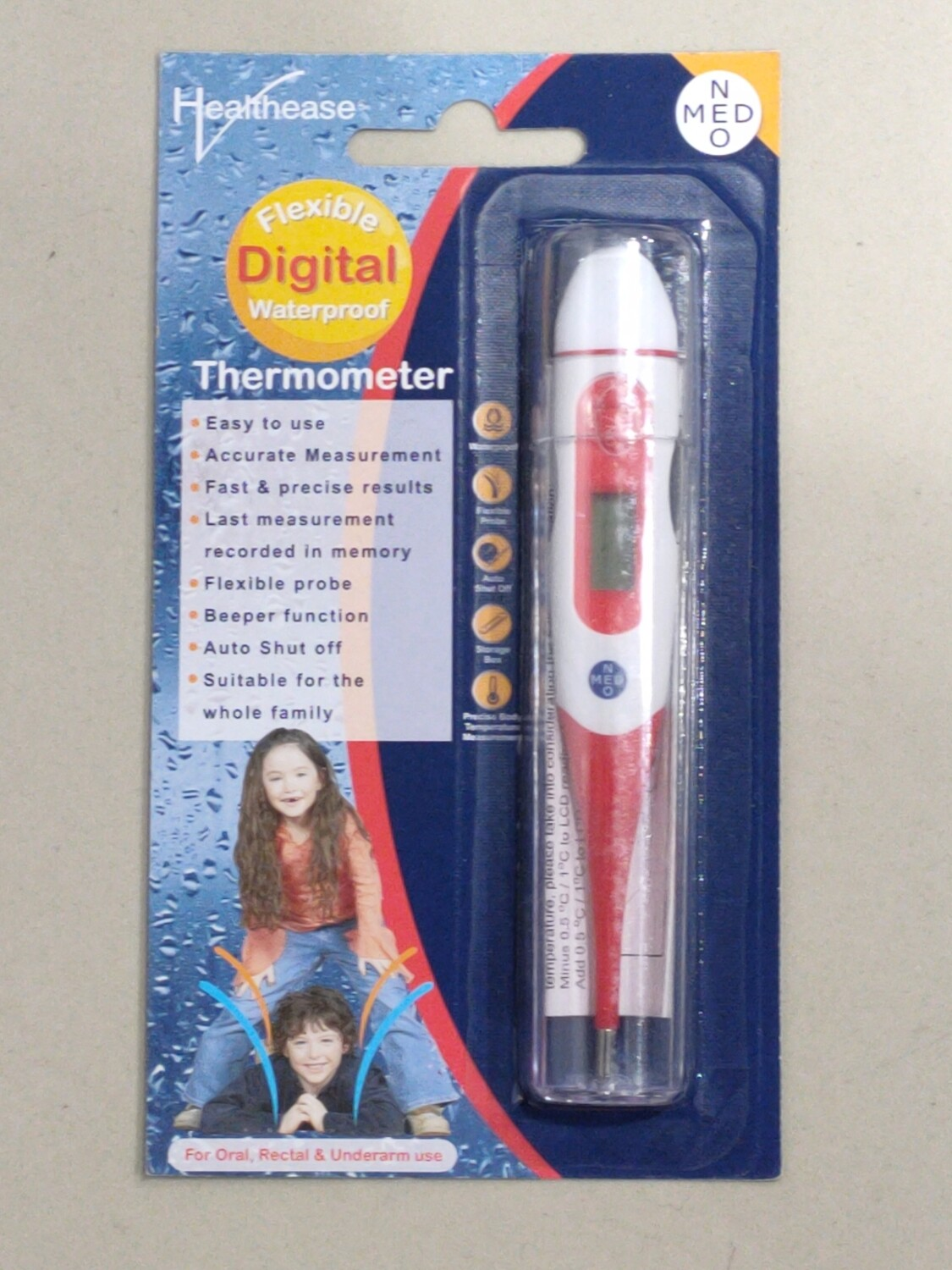 Digital Thermometer - Flexible Tip