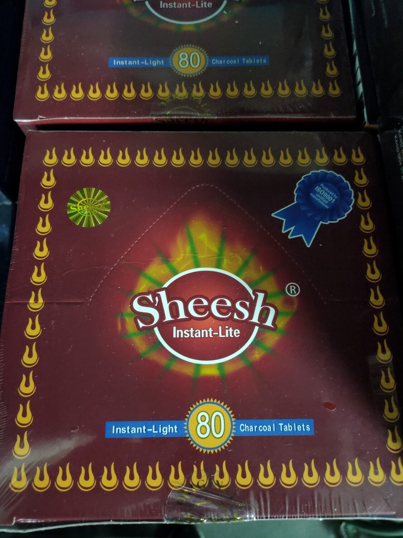 Sheesh Instant Lite Gold Pack Coal