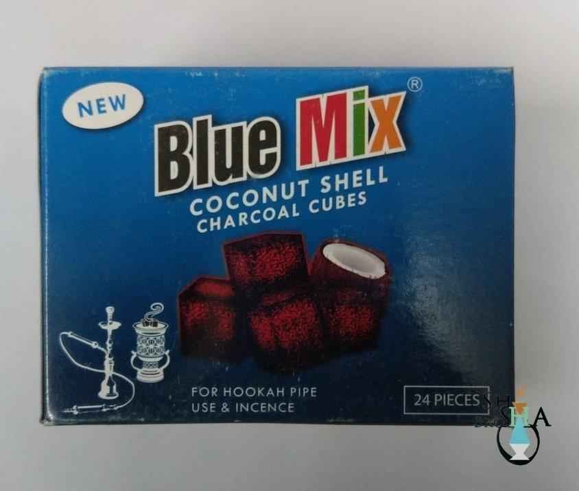 Blue Mix Coconut Coal 24pc & 96pc