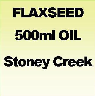 FLAXSEED OIL 500ml