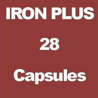 IRON PLUS 28 Capsules