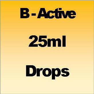B - Active 25ml drops