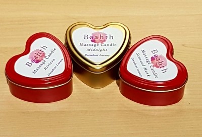 Massage Candle Heart