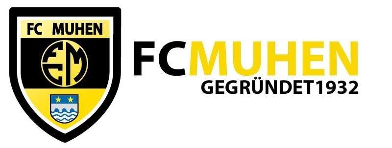 FC Muhen Sticker Logo mit Text