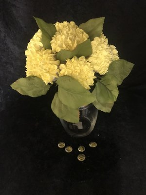 Yellow Hydrangea Bouquet