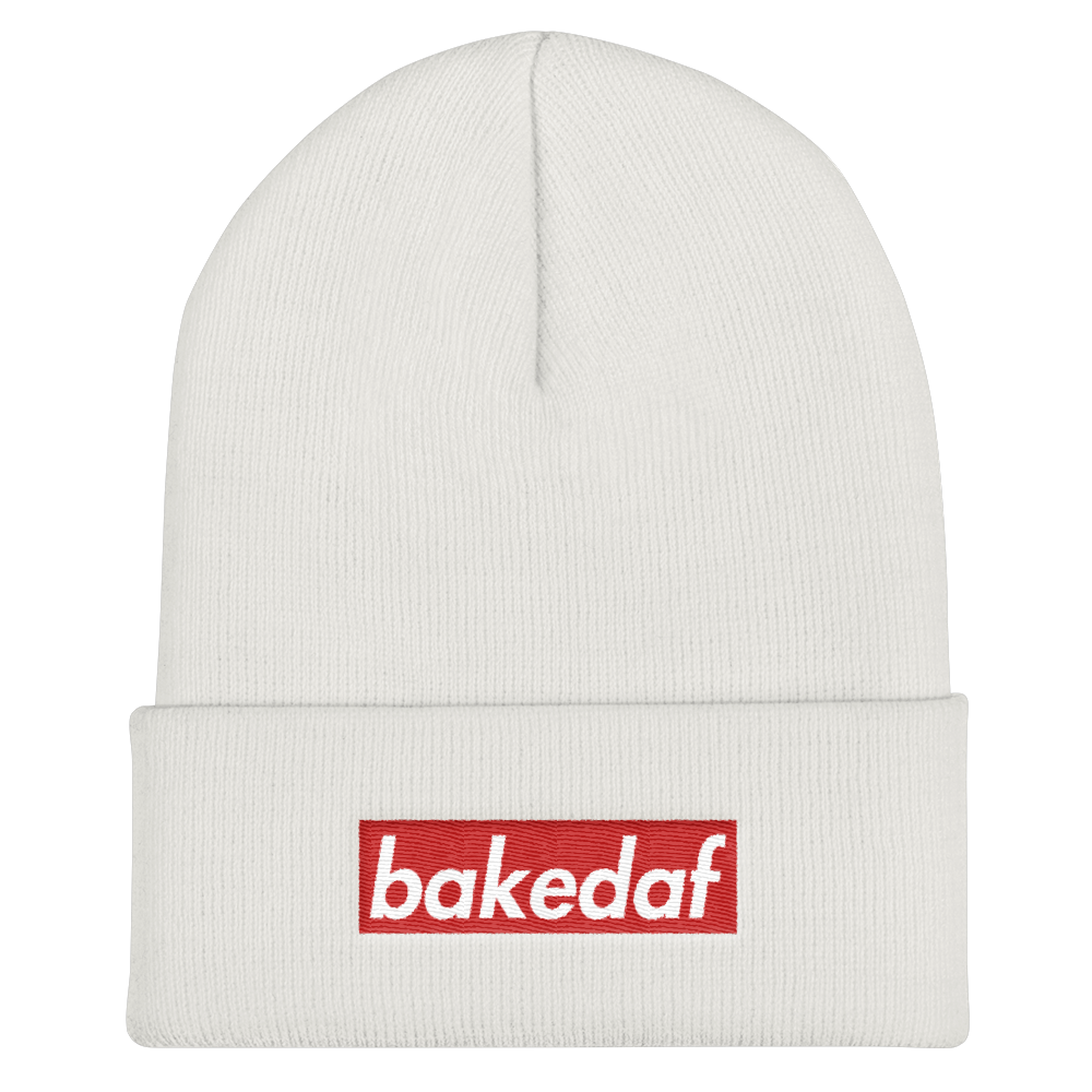 The Cookie Connect - Baked AF - Cuffed Beanie