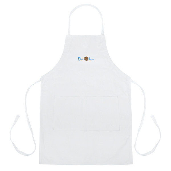 The Cookie Connect Bae-ker Embroidered Apron
