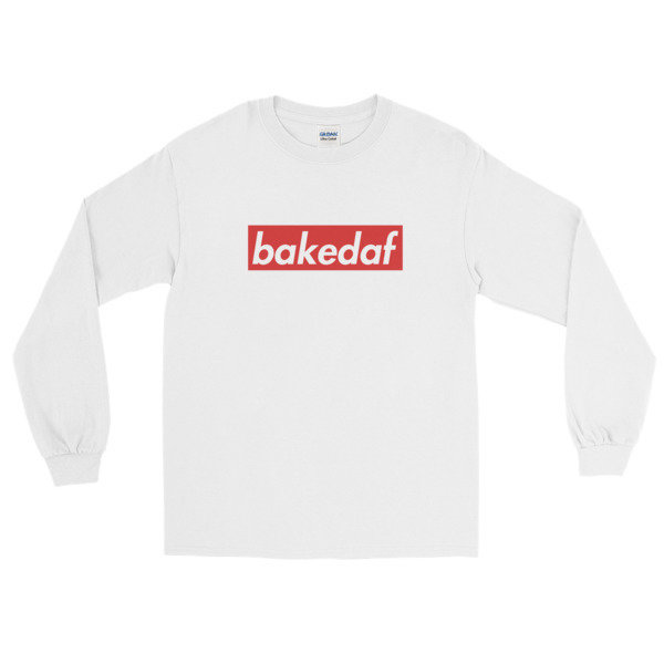 The Cookie Connect - Unisex Baked AF Long Sleeve T-Shirt