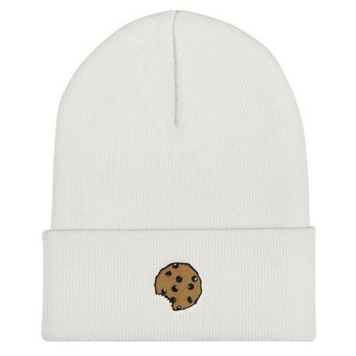 The Cookie Connect - Cookie Crumbs - Couple's Cuffed Beanie