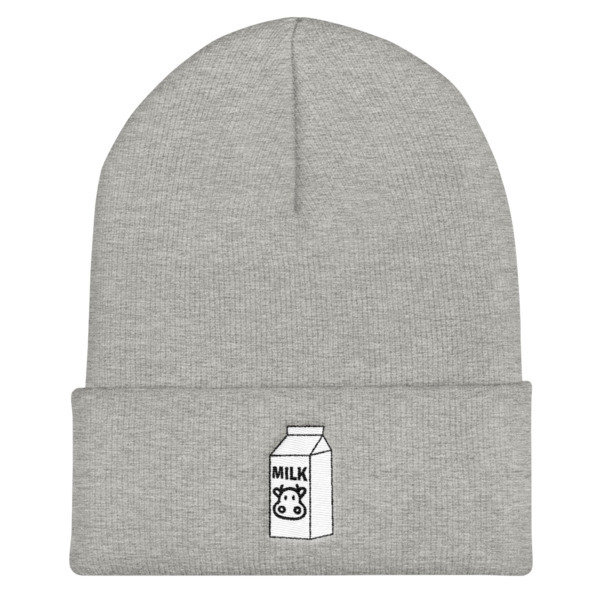 The Cookie Connect - Milk Carton - Couple's Cuffed Beanie