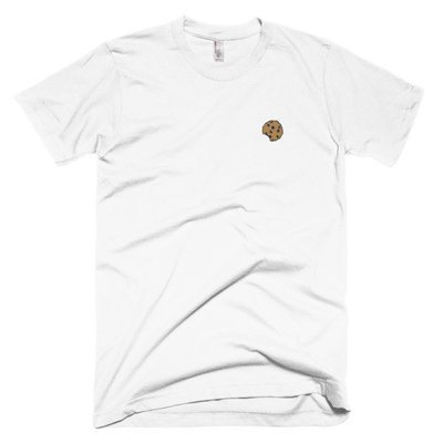 The Cookie Connect - Cookie Crumbs Embroidered T-Shirt