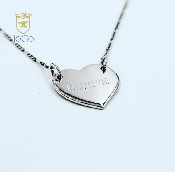 Closed Heart Necklace