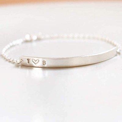 Sterling Silver Engravable Bracelet