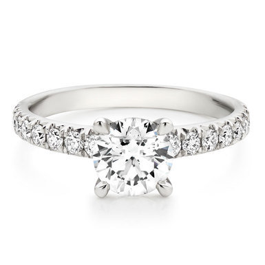 Four Prong Solitaire Ring