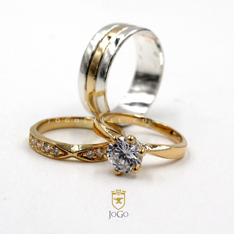 Engagement & Wedding Set