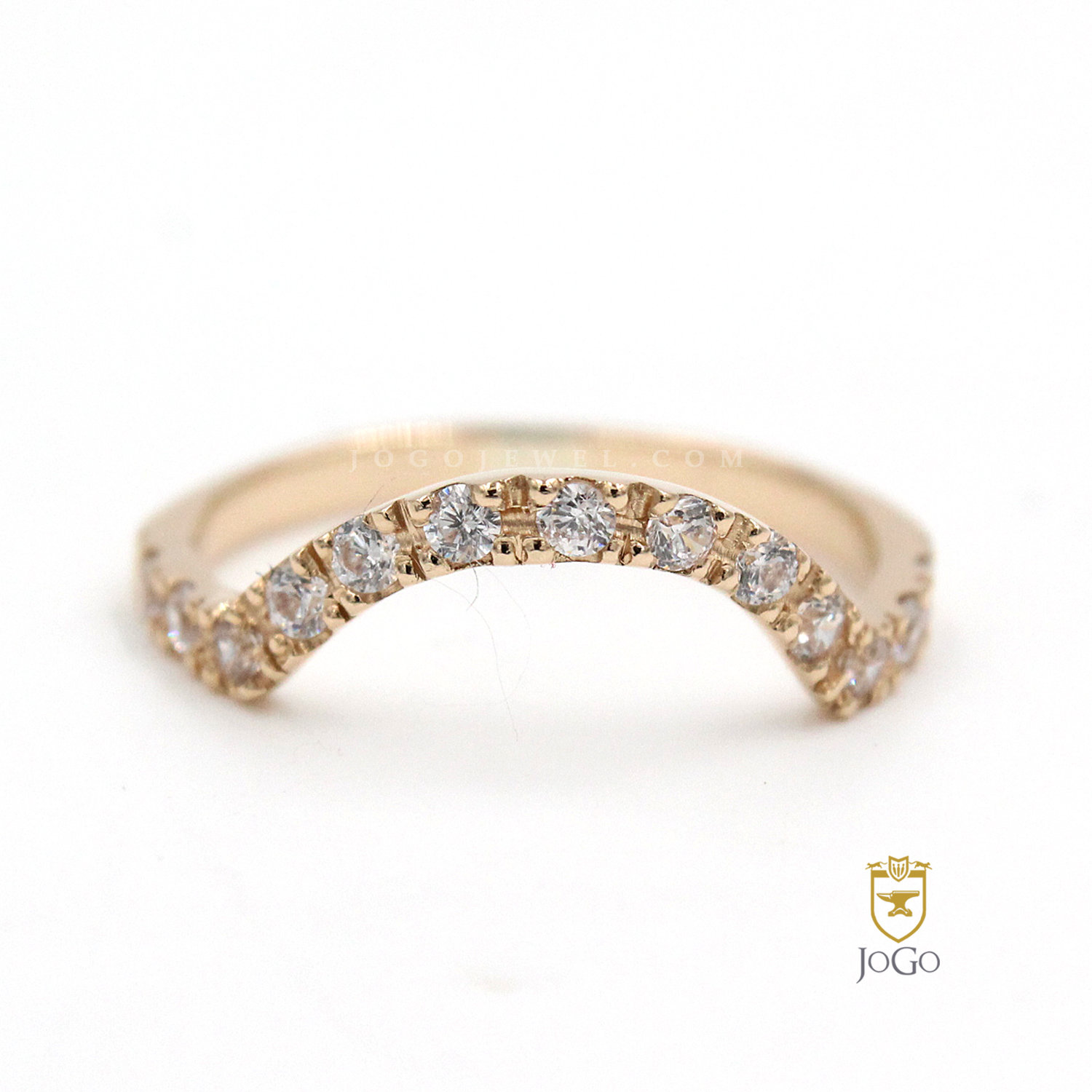 U-Shaped Band in 18K Yellow Gold