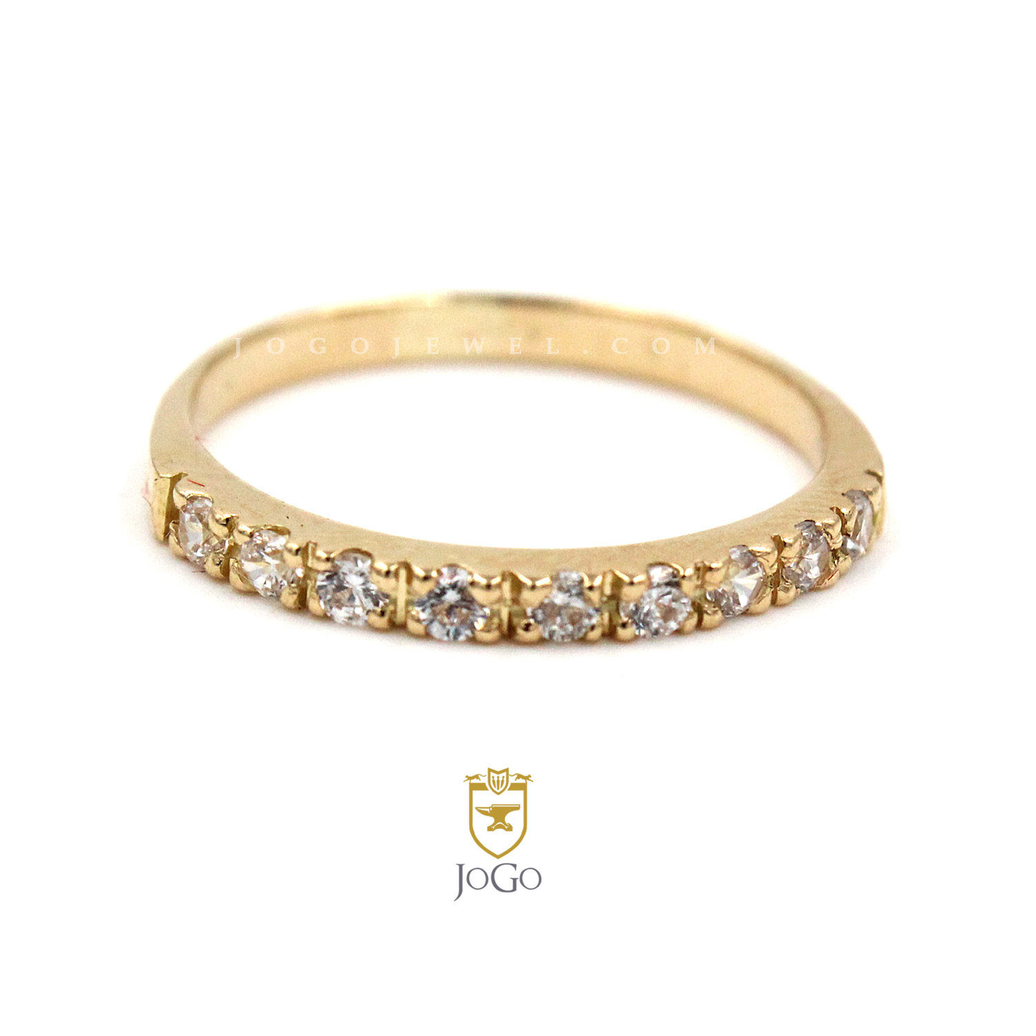 Eternity Ring in 18K Yellow Gold