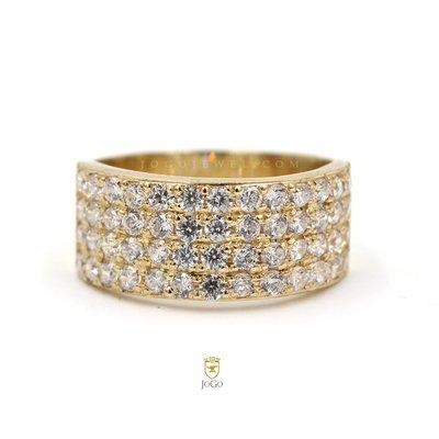 Wedding Ring in 18 K Yellow Gold