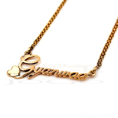 Heart in Name Necklace
