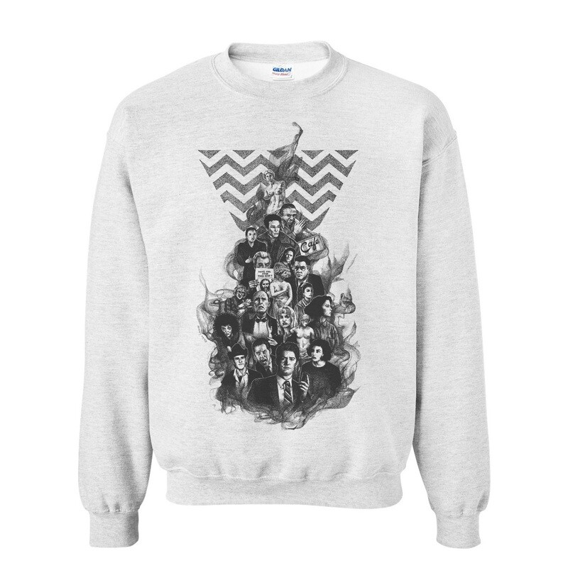 Fire, Walk with Me Sweater