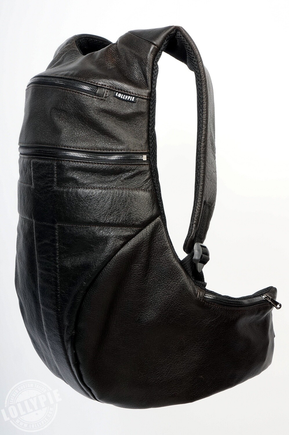 Anatomical Brown Genuine Leather Backpack