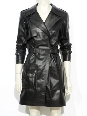 Coat Genuine Cow Leather