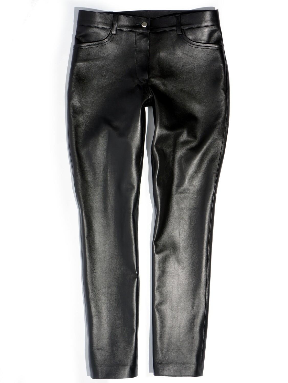 Leather Black Pants