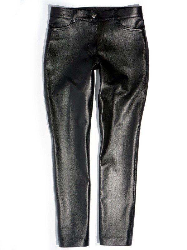 Leather Black Pants