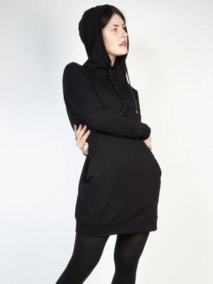Long Sweatshirt Dress Hood