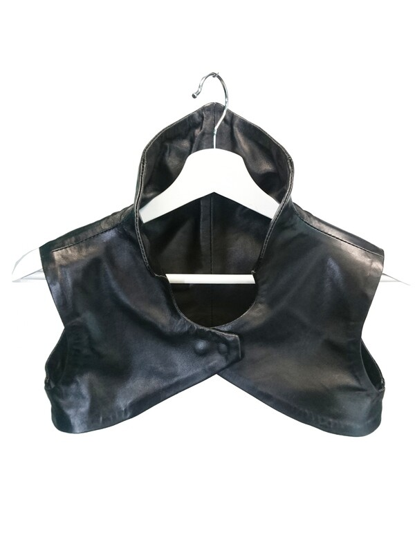 Genuine Leather Bolero Vest