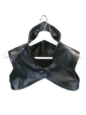 Genuine Leather Bolero Vest