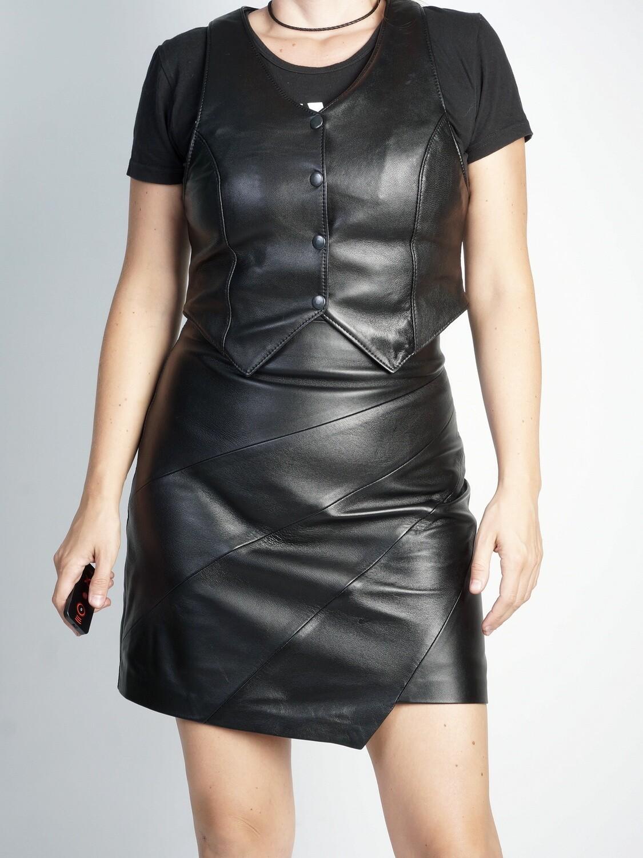 Skirt Genuine Leather