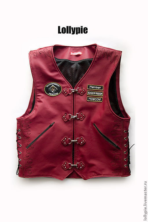 Vest Leather to Order