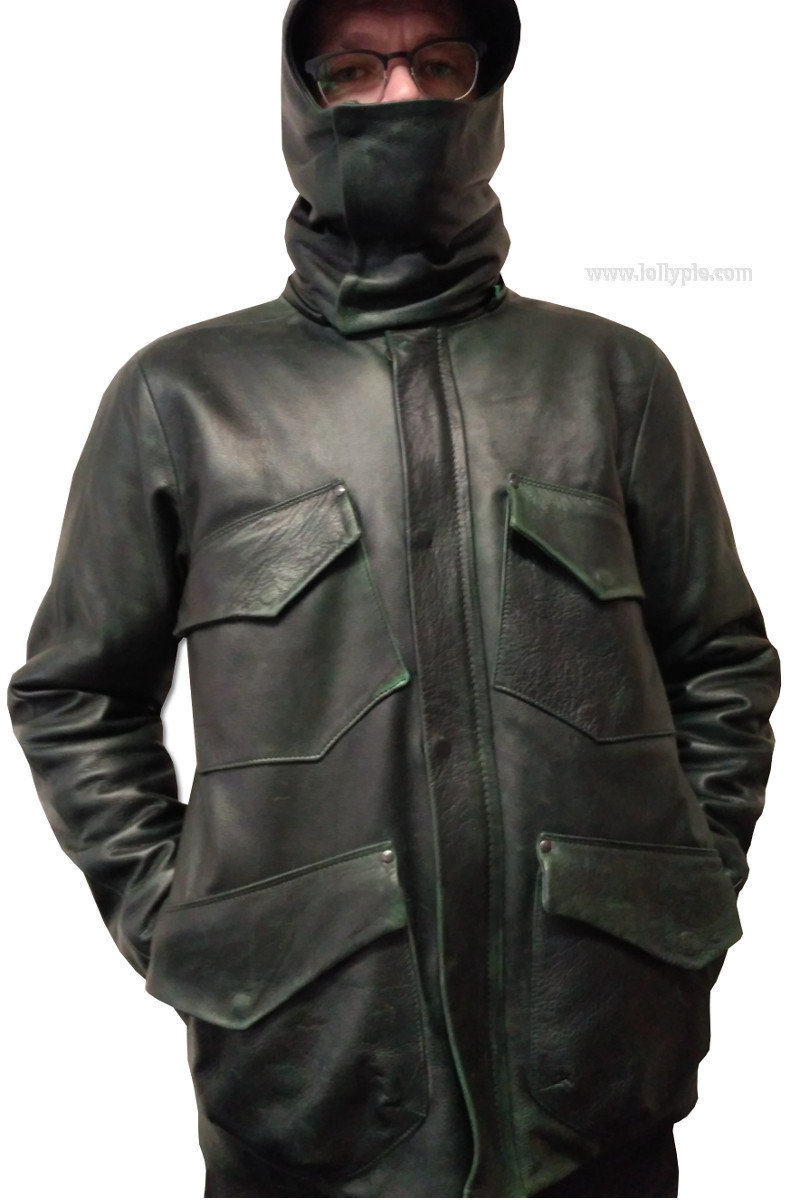 м65 Leather Jacket
