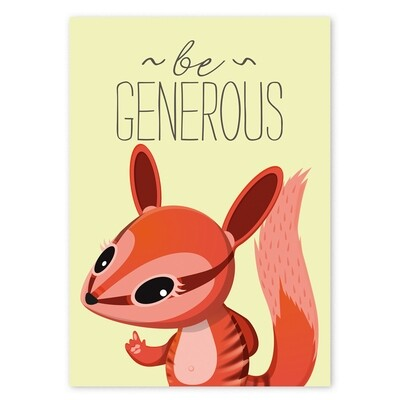 Be Generous - Numa