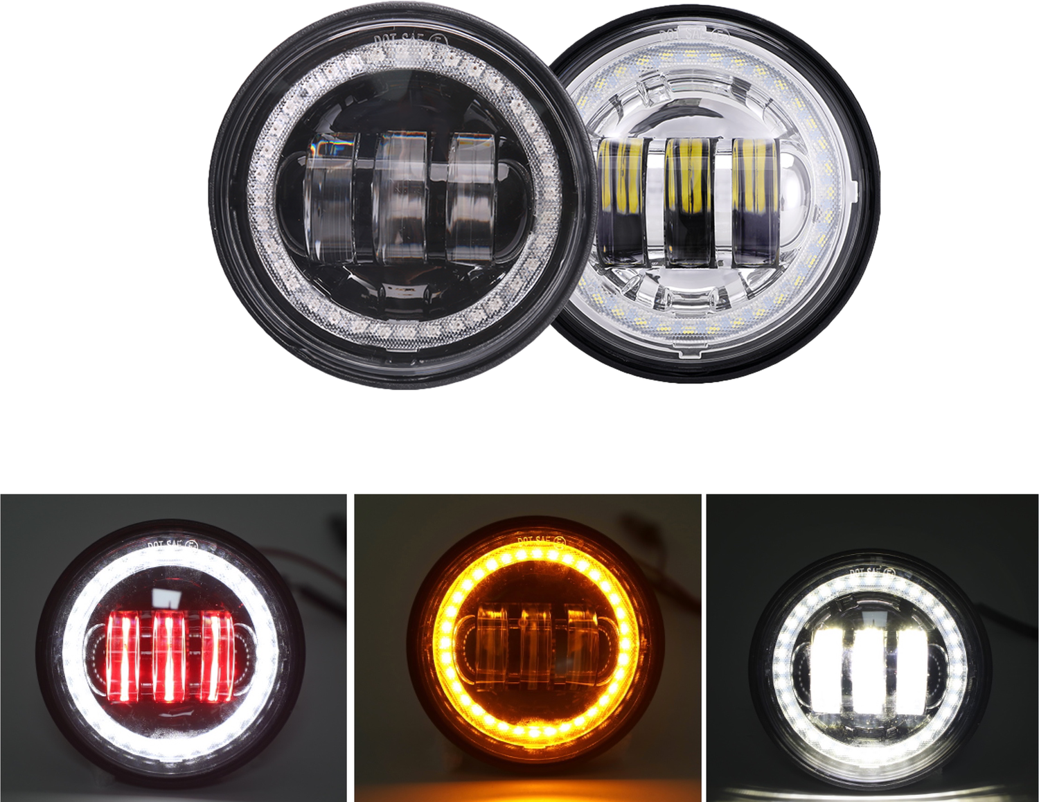 "4.5"" Fog Light Model F1"