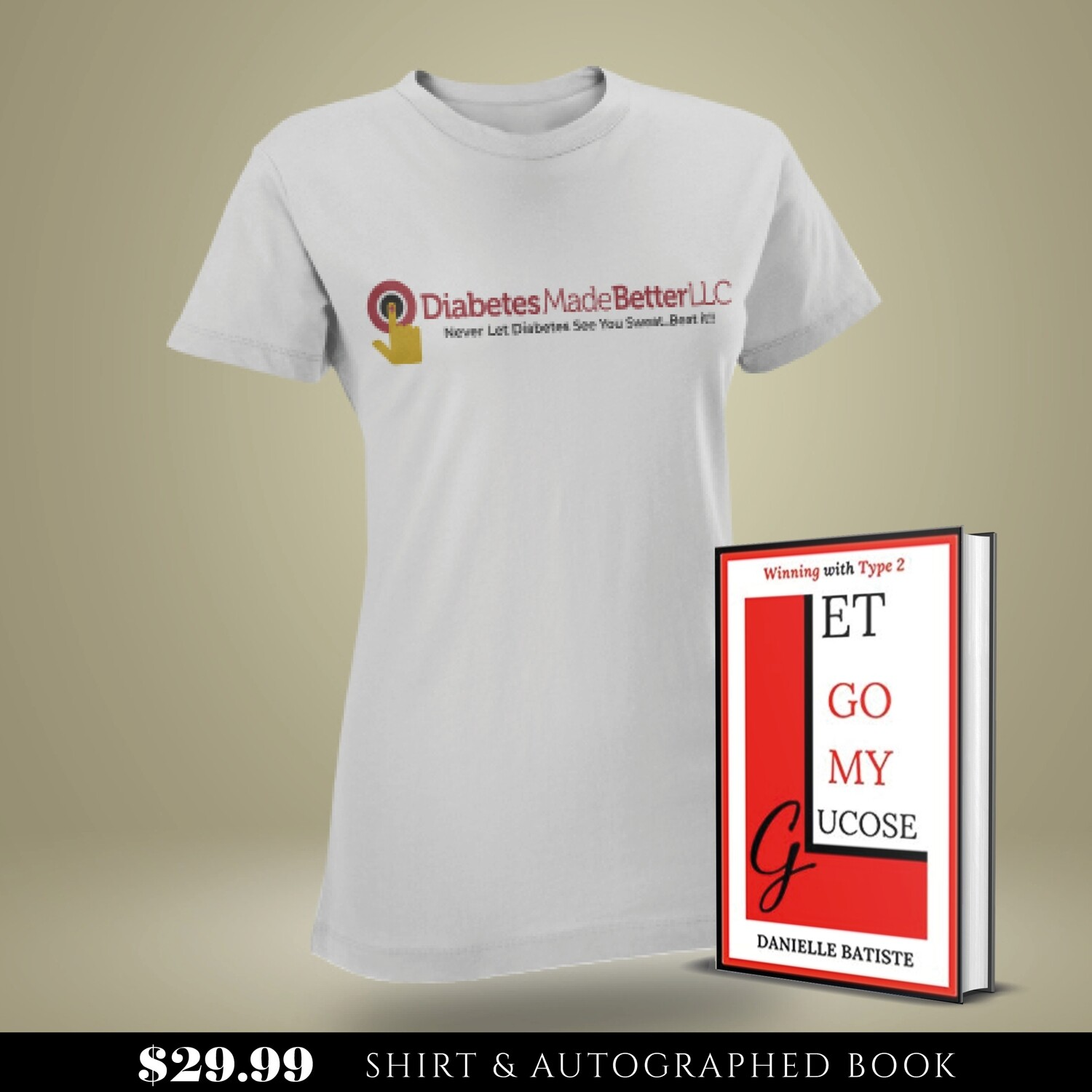 Book & Shirt Bundle