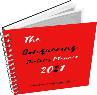 The Conquering Diabetes Planner