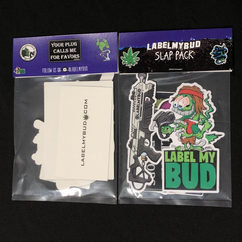 Label My Bud Slap Pack