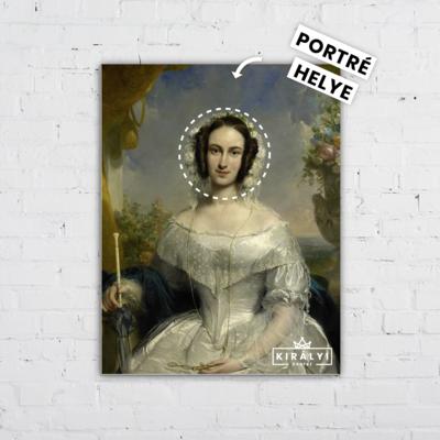 Arisztokrata Hölgy - Egyedi Portré