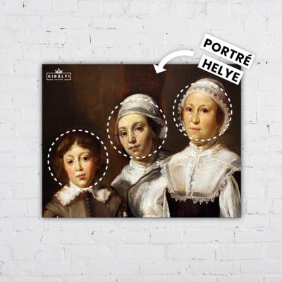 Nevelőnők - Egyedi Portré