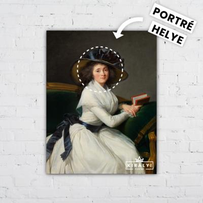 A Mesélő Hölgy - Egyedi Portré