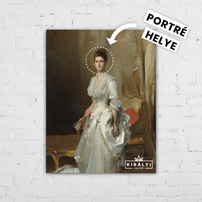 Párizsi Úrhölgy - Egyedi Portré