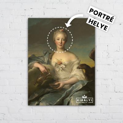 A Szent Grál Asszonya- Egyedi Portré