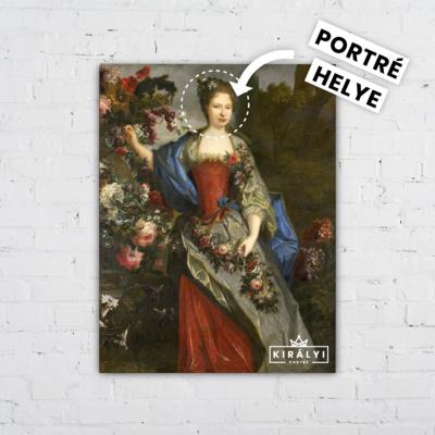 A Rózsák királynője - Egyedi Portré