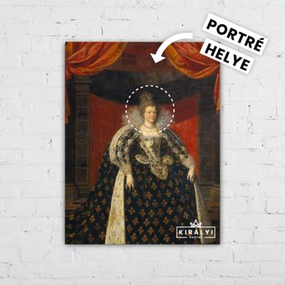A Császárnő- Egyedi Portré