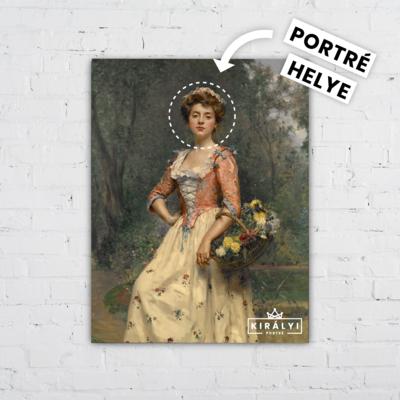 A Tavasz Hölgye - Egyedi Portré